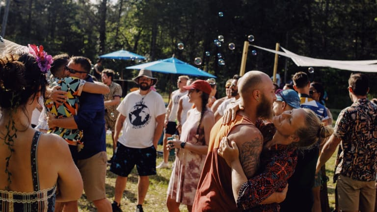 Couple Turns Wedding Into Two-Day Camping Music Festival