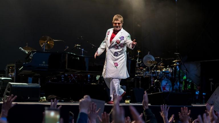 "Elton John Taps SG Lewis, Dua Lipa, More for ""The Lockdown Sessions"" Album"