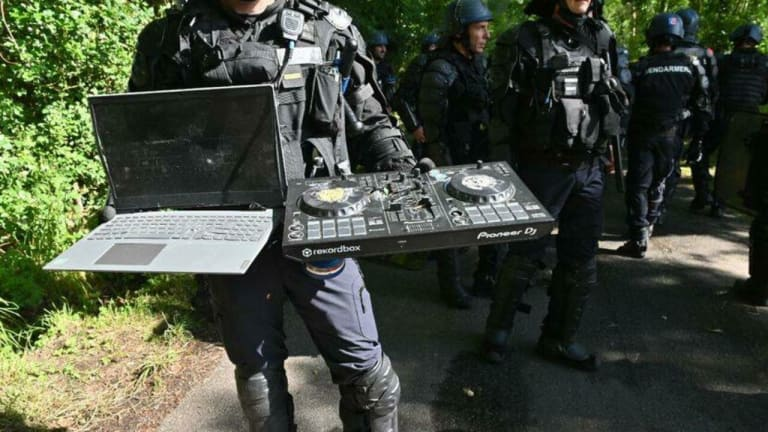 French Police Violated Human Rights at Crackdown of Illegal Rave, Report Finds