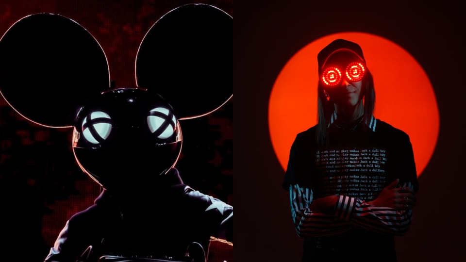 Listen to Previews of deadmau5 and REZZ's First-Ever Collab via Trippy New NFT Collection