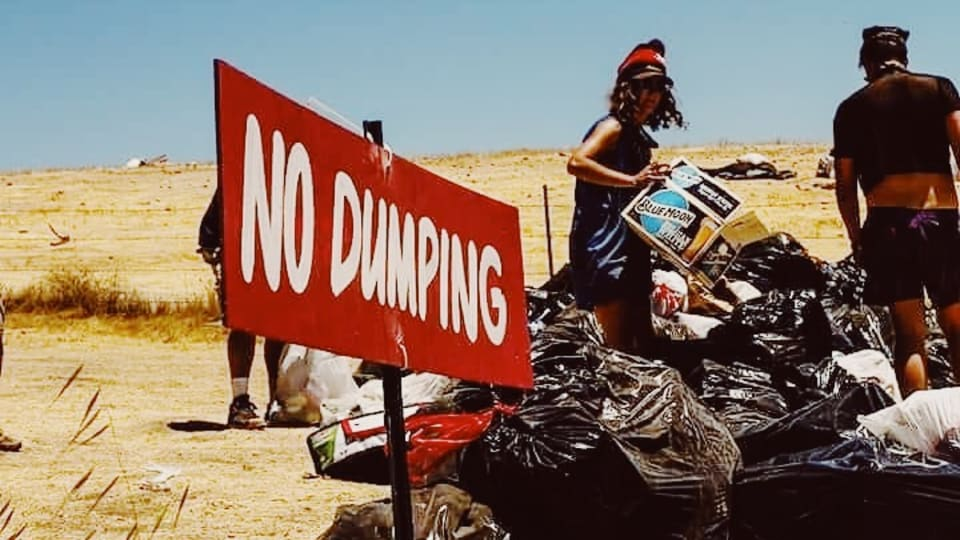 """""""Trashion"""": This Woman Picks Up Your Trash at Music Festivals—Then Makes Art With It"""