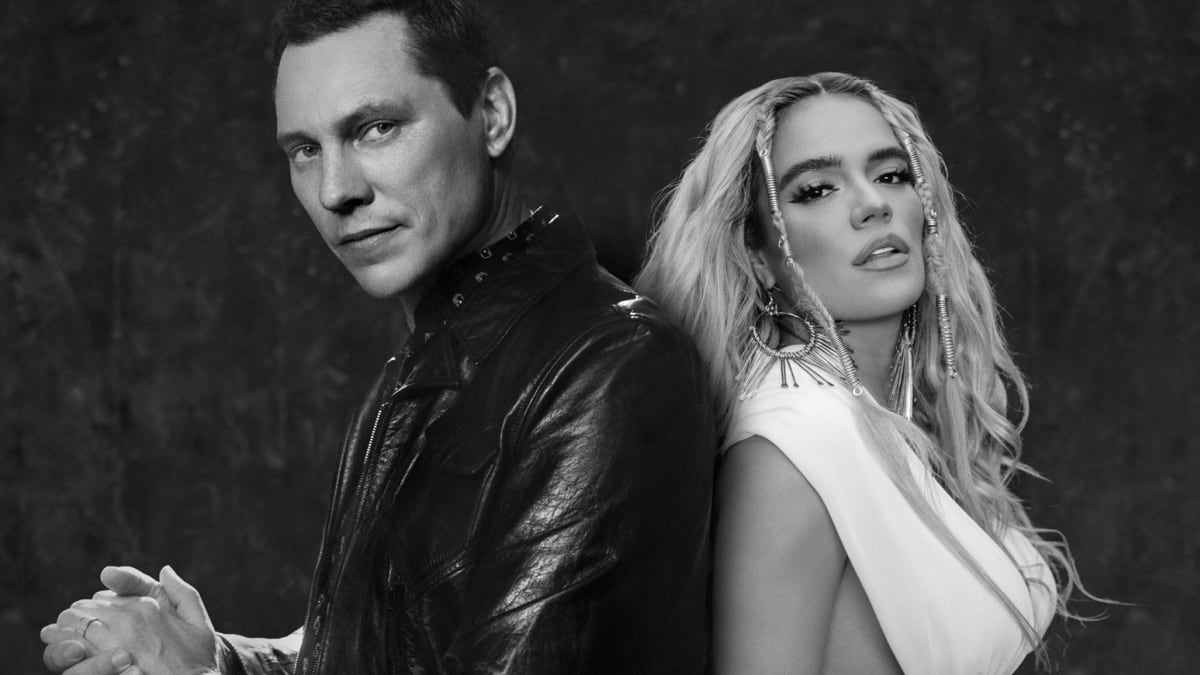 """Tiësto and Karol G Team Up for Easygoing Summer Anthem, """"Don't Be Shy"""" -  EDM.com - The Latest Electronic Dance Music News, Reviews & Artists"""