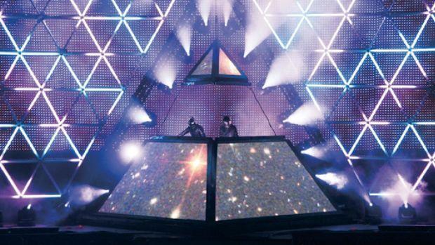 Daft Punk Pyramid - Alive 2007 Tour
