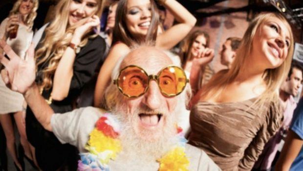 Grandpa Goes Clubbing