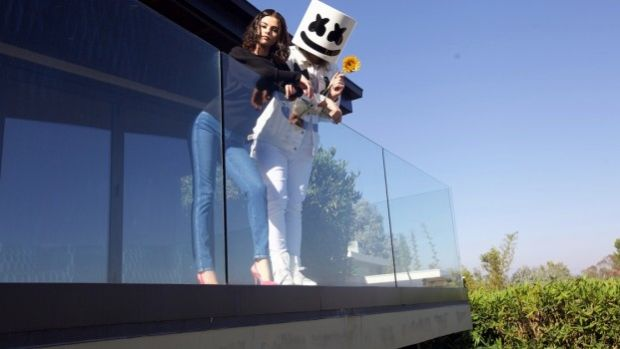 Selena Gomez and Marshmello