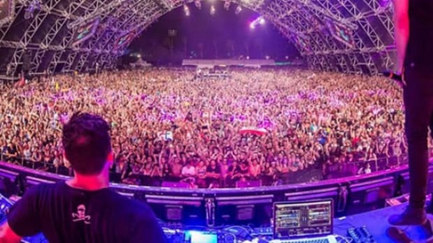 Festival Crowd Photo - Ghastly DJ > Rockstar