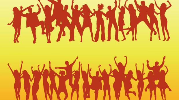 Dancing Silhouettes / Dancing Crowd