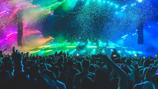 Music Festival Confetti