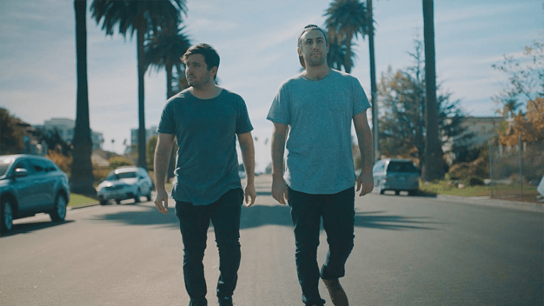 "TWO FRIENDS Get Wild in Their Music Video for ""Take It Off"""
