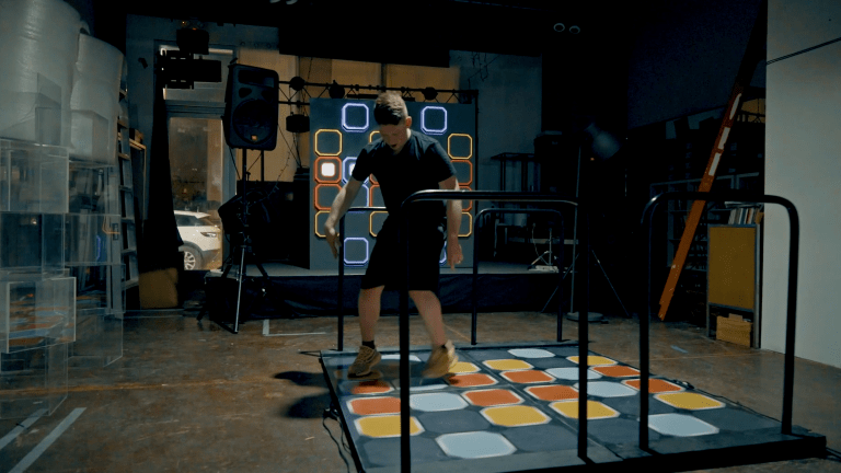 Watch this DJ Remix Kendrick Lamar, Skrillex, and More on Custom Dance Dance Revolution Pad
