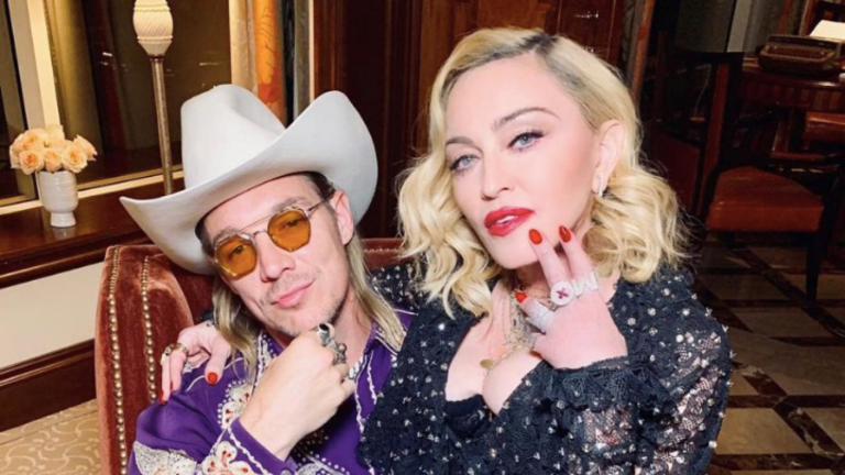 Diplo Partied with Madonna for the Pop Icon's 62nd Birthday in Jamaica