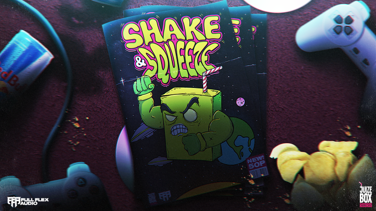 Full Flex Audio and Juize Box Records Join Forces for Massive Underground Bass Compilation, Shake & Squeeze