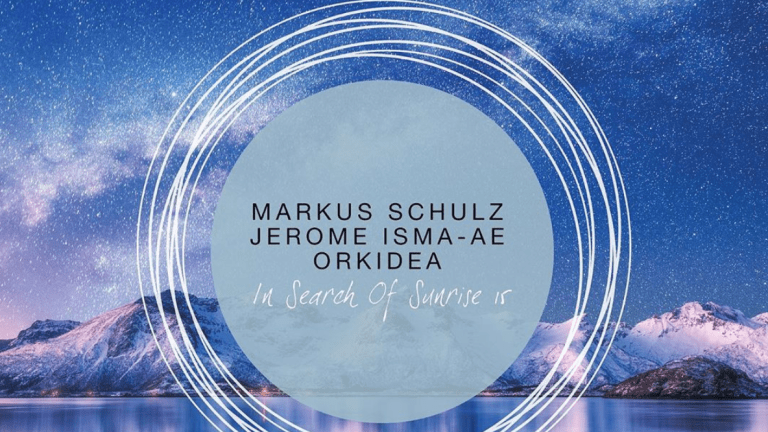 Markus Schulz Enlists Jerome Isma-Ae and Orkidea on In Search of Sunrise 15