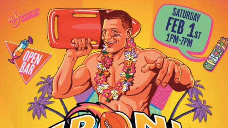 Rob Gronkowski Takes a Page out of Shaq's Book with Gronk Beach Miami