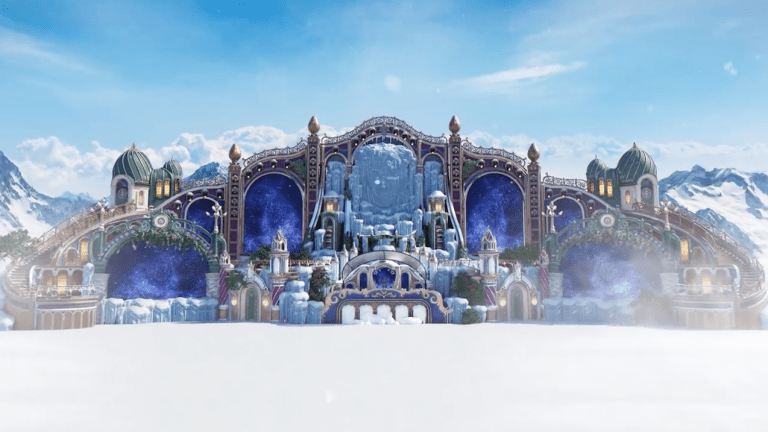 The Main Stage Design for Tomorrowland Winter Has Been Unveiled