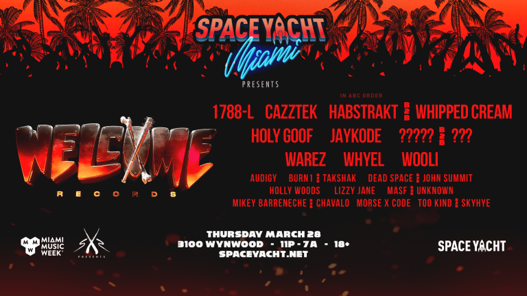 Space Yacht Releases Stacked Miami Music Week Lineup