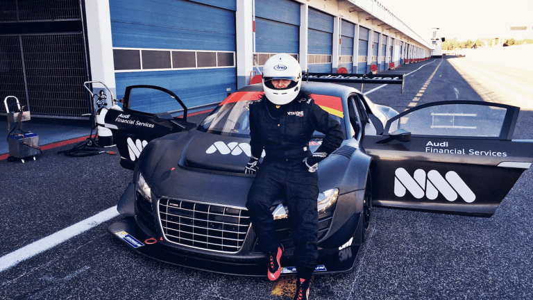 Nicole Moudaber Talks Passion for Race Car Driving in Interview