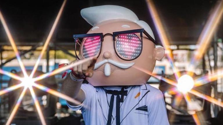 Colonel Sanders Announces Finger Lickin' Good World Tour