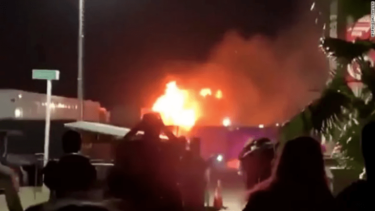 Fire Breaks Out at Coachella 2019