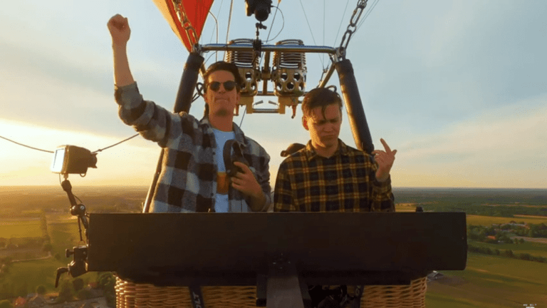 Dutch Duo Mr. Belt & Wezol Preview Upcoming Hot Air Balloon Performance