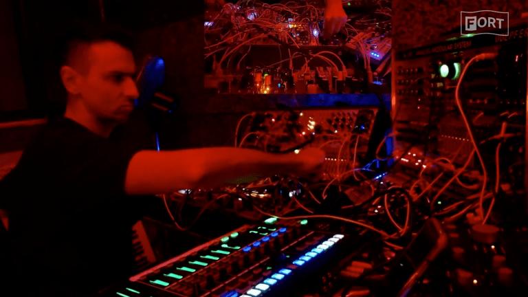 Watch Boys Noize Throw Down a Rare Modular Industrial Set
