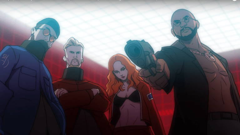 "Watch Anime Avatars of Snakehips and Jess Glynne Fight Evil in Dystopian ""Lie for You"" Music Video"