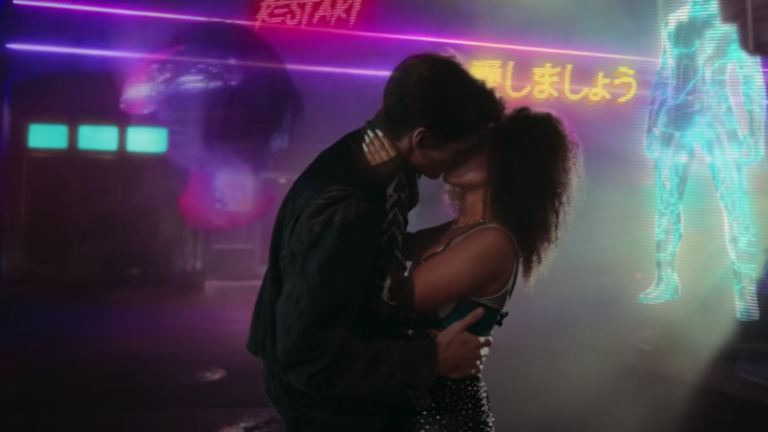 """Watch a Retrowave Love Story Unfold in David Guetta and Sia's Technicolor """"Let's Love"""" Music Video"""