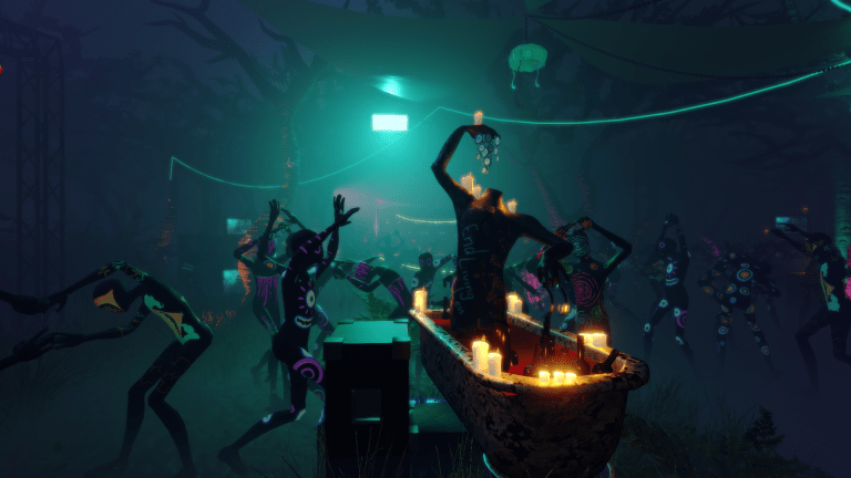 """Dance, Drink, and Die"" in This Trippy Video Game Blending Rave Culture and Horror"