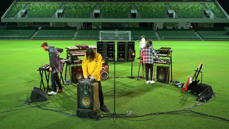 Watch Tame Impala Perform to An Empty Stadium for FIFA 21's Official Soundtrack