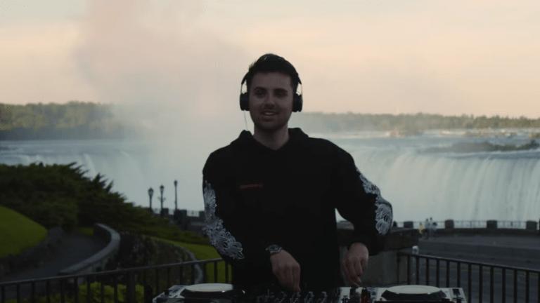 Watch Dzeko Drop a Massive DJ Set Live from Niagara Falls