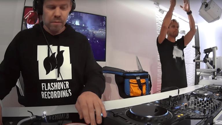 Watch Armin van Buuren and Ferry Corsten Perform Rare B2B Trance Set on Vinyl