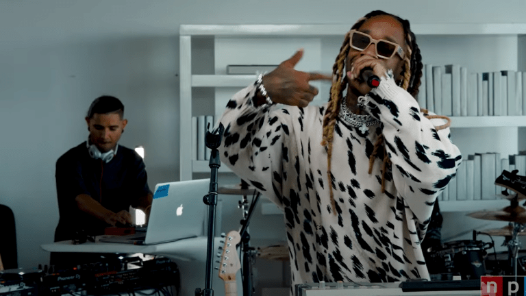 """Watch Skrillex Join Ty Dolla $ign for Scintillating """"Tiny Desk"""" Live Performance"""