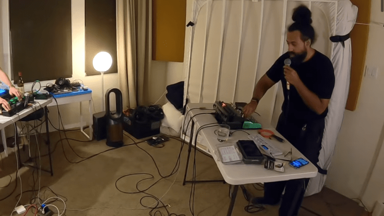 Watch Marc Rebillet and Reggie Watts Jam Out in Rare Studio Session