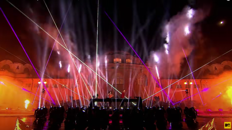 Watch David Guetta Perform Live from Budapest's Széchenyi Bath for the 2020 MTV EMAs