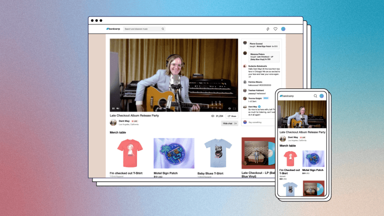 Bandcamp Live: The New Ticketed Streaming Service for Artists