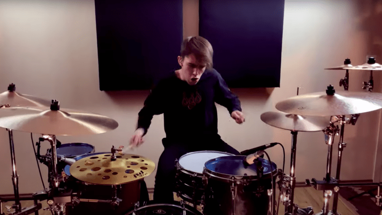 "Watch This Drummer Shred a Live Cover of Illenium, Tom DeLonge, and Angels & Airwaves' ""Paper Thin"""