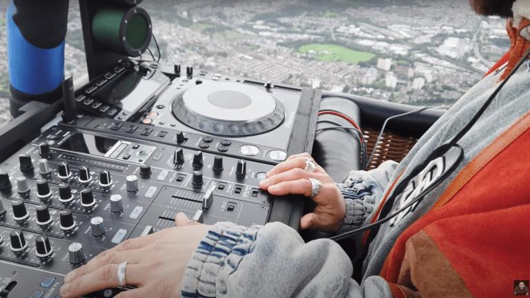 Watch Hot Since 82 Perform Live DJ Set from a Hot Air Balloon