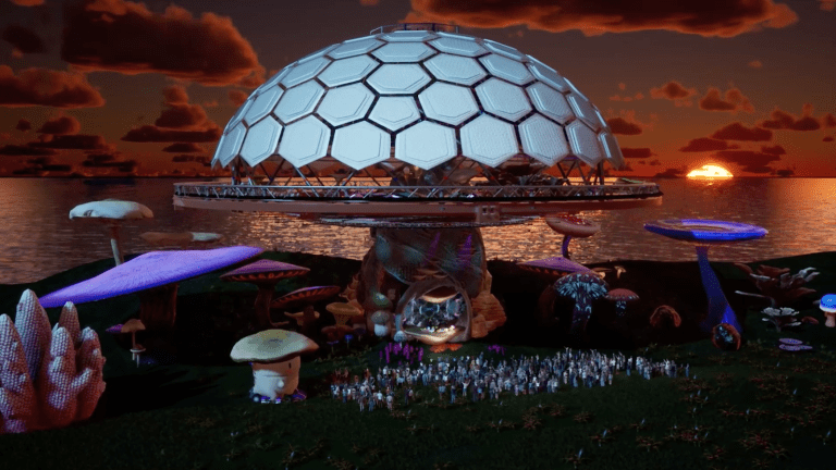 Spend Your New Year's Eve in a Trippy Virtual Mushroom with Beats Antique