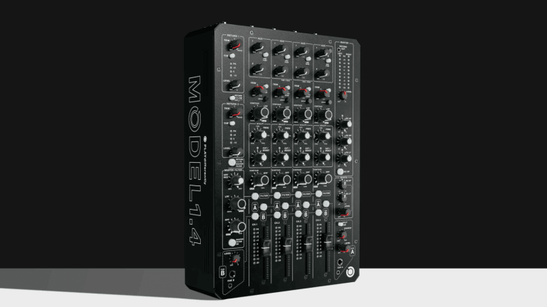 Richie Hawtin's PLAYdifferently Manufacturer Releases MODEL 1.4 DJ Mixer