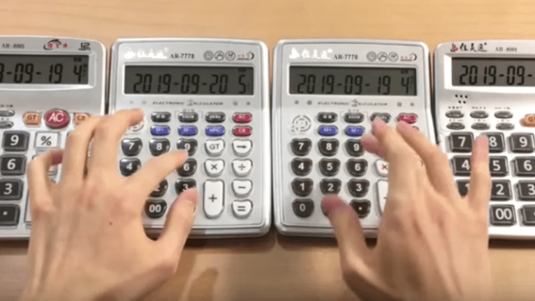 A YouTuber Performed Daft Punk's Music Live On Melodic Calculators: Watch