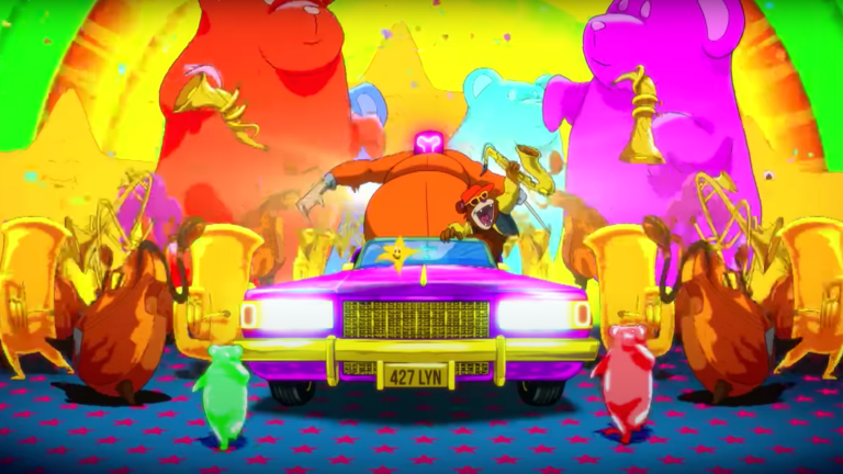 "Watch the Trippy Visualizer for GRiZ and Ganja White Night's ""Ease Your Mind"""
