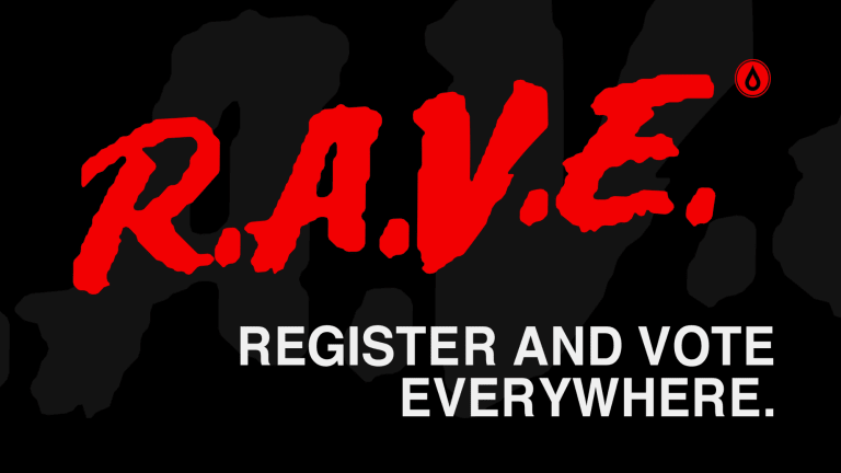 Disco Donnie Presents Launches R.A.V.E. to Increase Voter Turnout In 2020