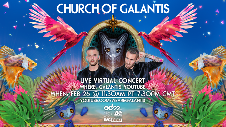 How to Watch the Church of Galantis Live Virtual Concert via Wave