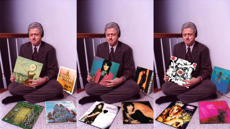 Here's How to Make Your Own Bill Clinton Swag Album Meme