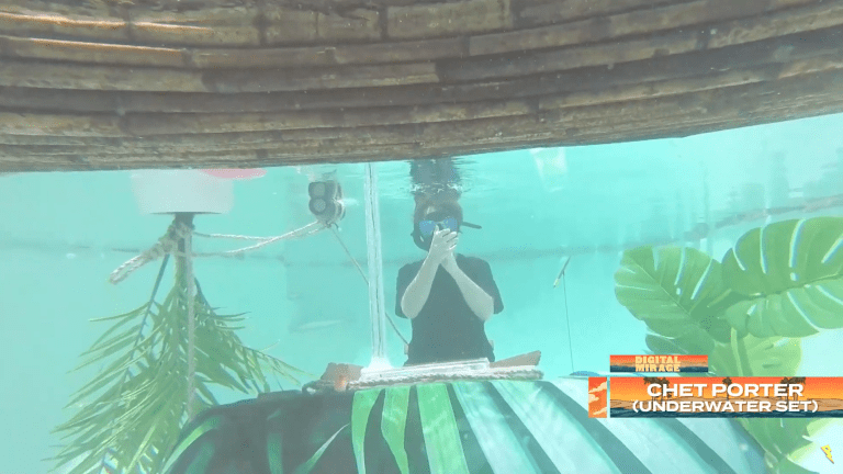 Chet Porter Shares First Ever Underwater DJ Set