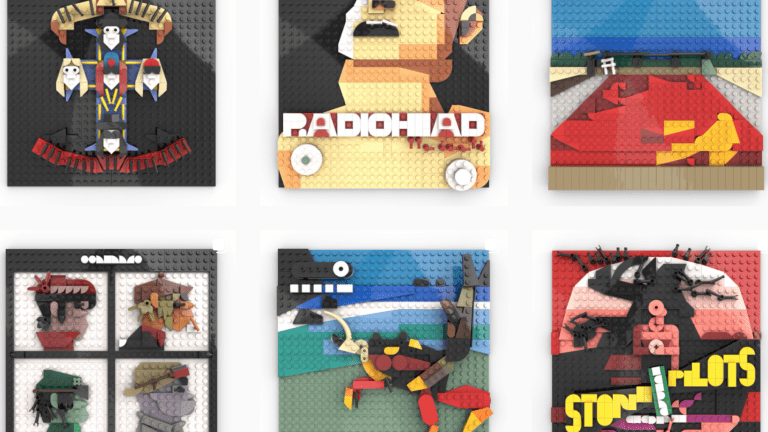 This LEGO Artist Recreates Iconic Album Covers From Daft Punk, deadmau5, The Prodigy, More