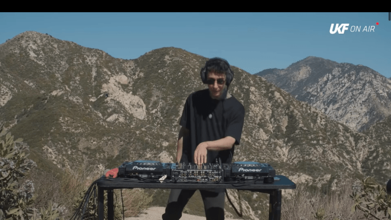 Modestep Drops Classic Dubstep and Drum & Bass Set for UKF from Mountains of Los Angeles