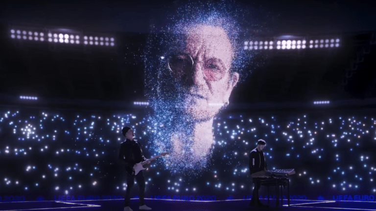 """Watch Martin Garrix, Bono and The Edge Kick Off UEFA EURO With Performance of """"We Are The People"""""""