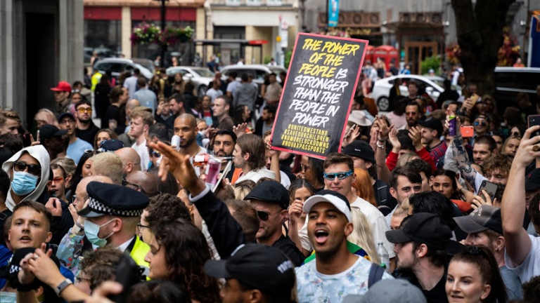 23 People Arrested at #FreedomToDance Protests in Central London