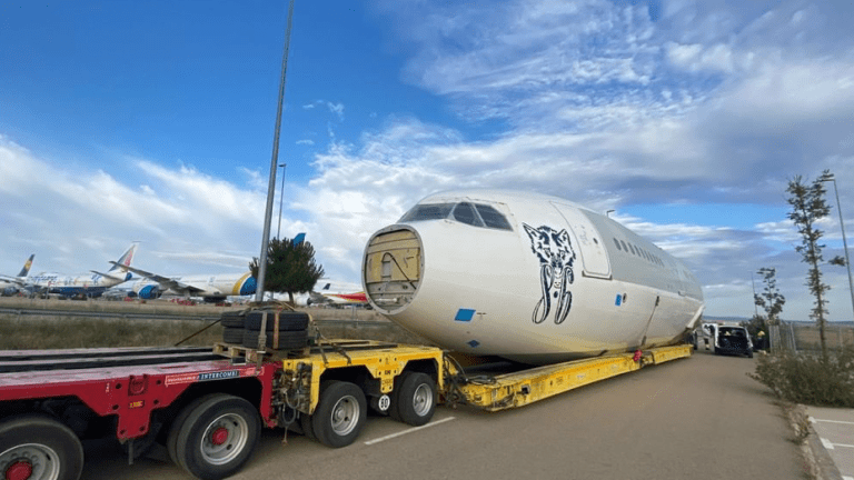 This Music Festival Converted a Decommissioned Jumbo Jet Into a Stage